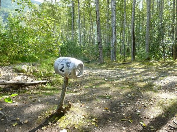 seven-pastures-disc-golf, best things to do in Skagway with Alaska Shore Tours