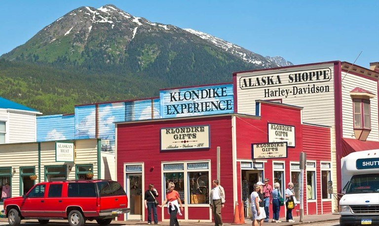 Skagway Downtown, best things to do in Skagway with Alaska Shore Tours