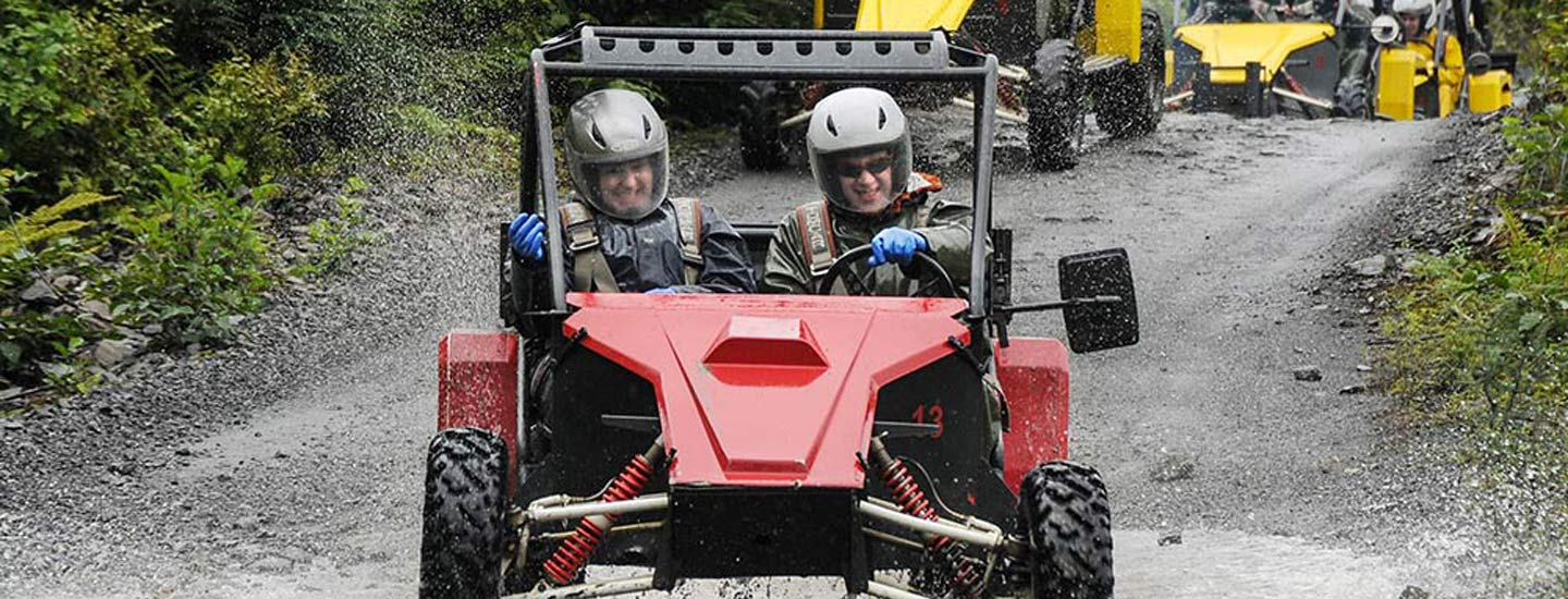 Adventure Karts Expedition with Alaska Shore Tours