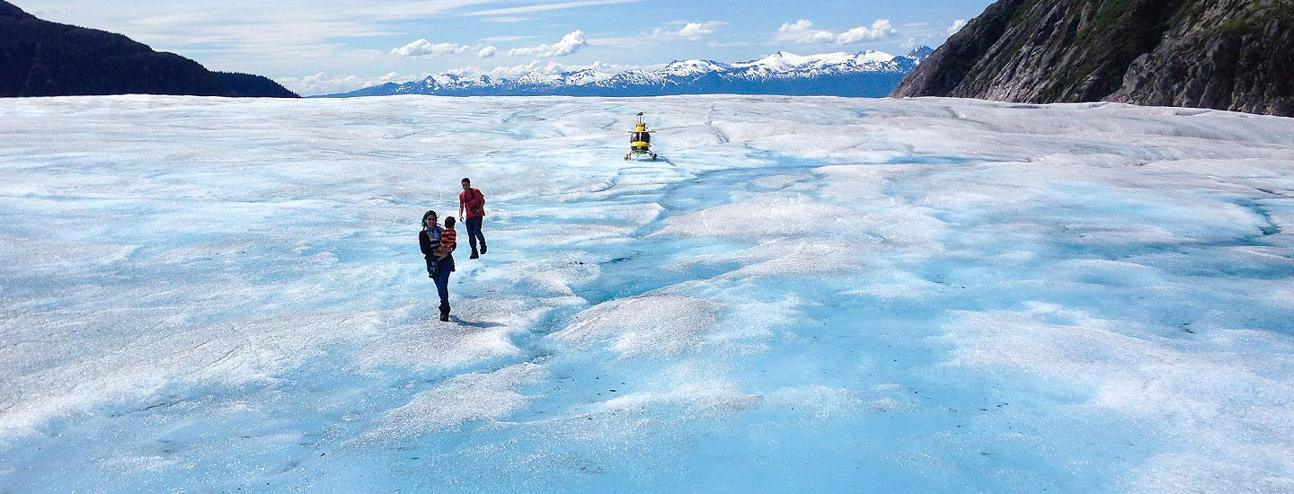Icefield Helicopter Excursion with Alaska Shore Tours