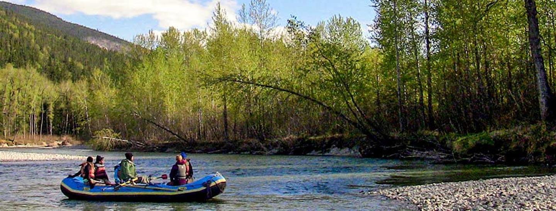 Scenic River Float Trip with Alaska Shore Tours