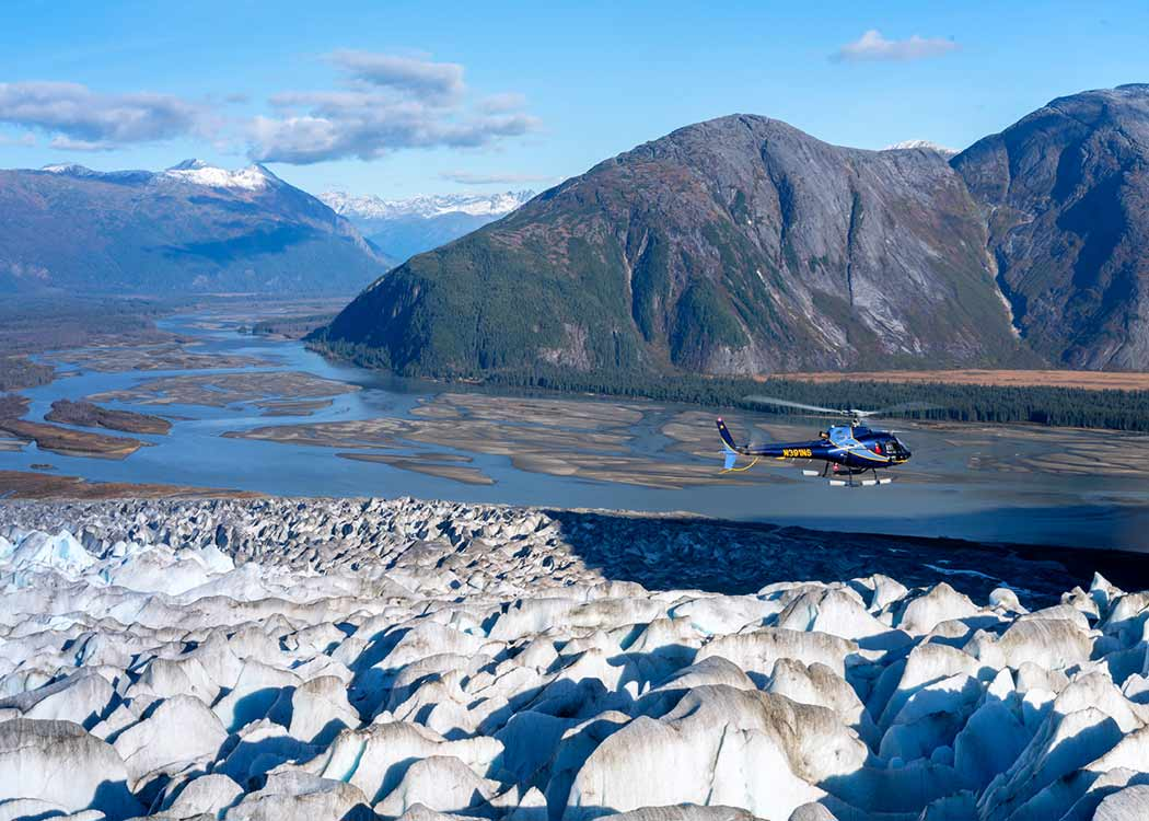 Taku Glacier Adventure by Air, Water, & Ice with Alaska Shore Tours
