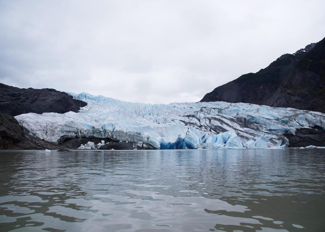 Mendenhall Glacier Canoe Paddle & Trek