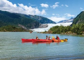 Mendenhall Lake Kayaking Adventure with Alaska Shore Tours