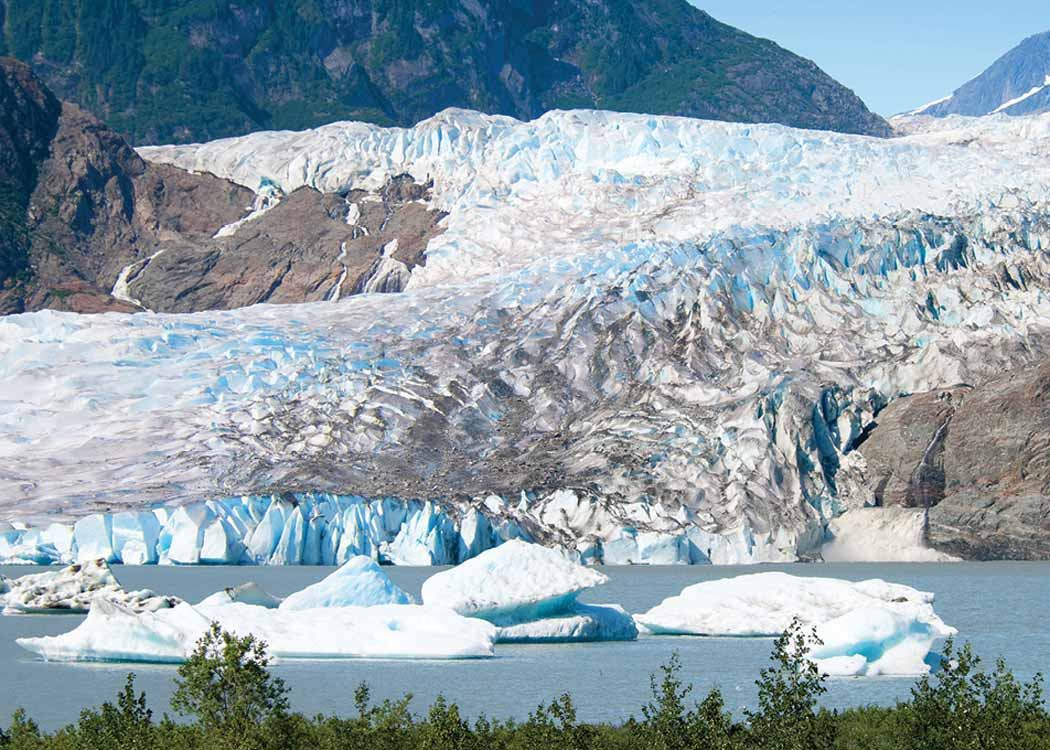 Mendenhall Lake Kayaking Adventure with Alaska Shore Tours