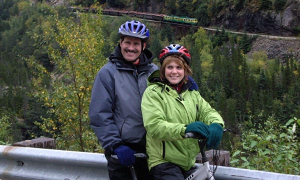 White Pass Train and Bike