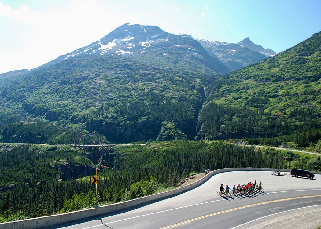 White Pass Train & Bike with Alaska Shore Tours