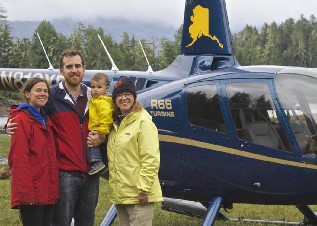 Mountain Lake Helicopter Tour with Alaska Shore Tours