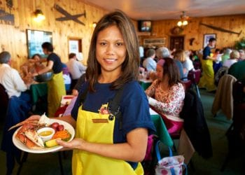 Lumberjack Show & Crab Feast with Alaska Shore Tours