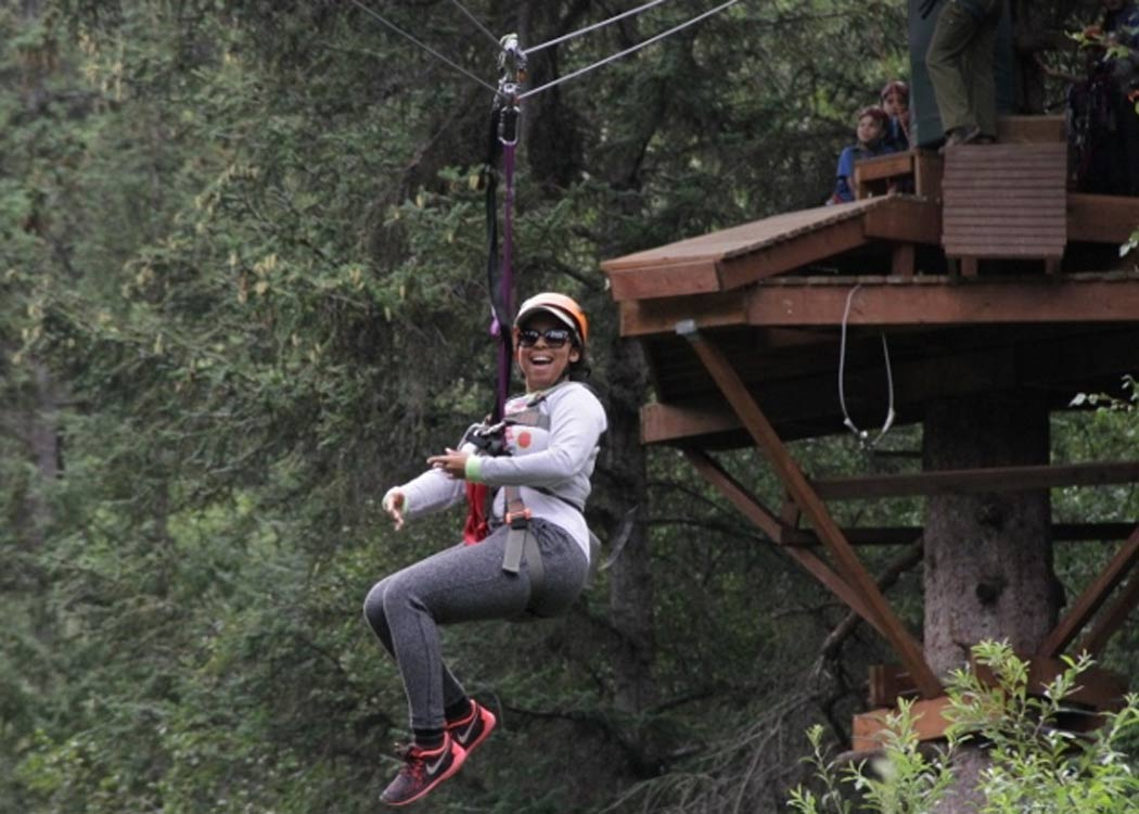 Skagway Rock Climbing, Rappelling, and Ziplining with Alaska Shore Tours