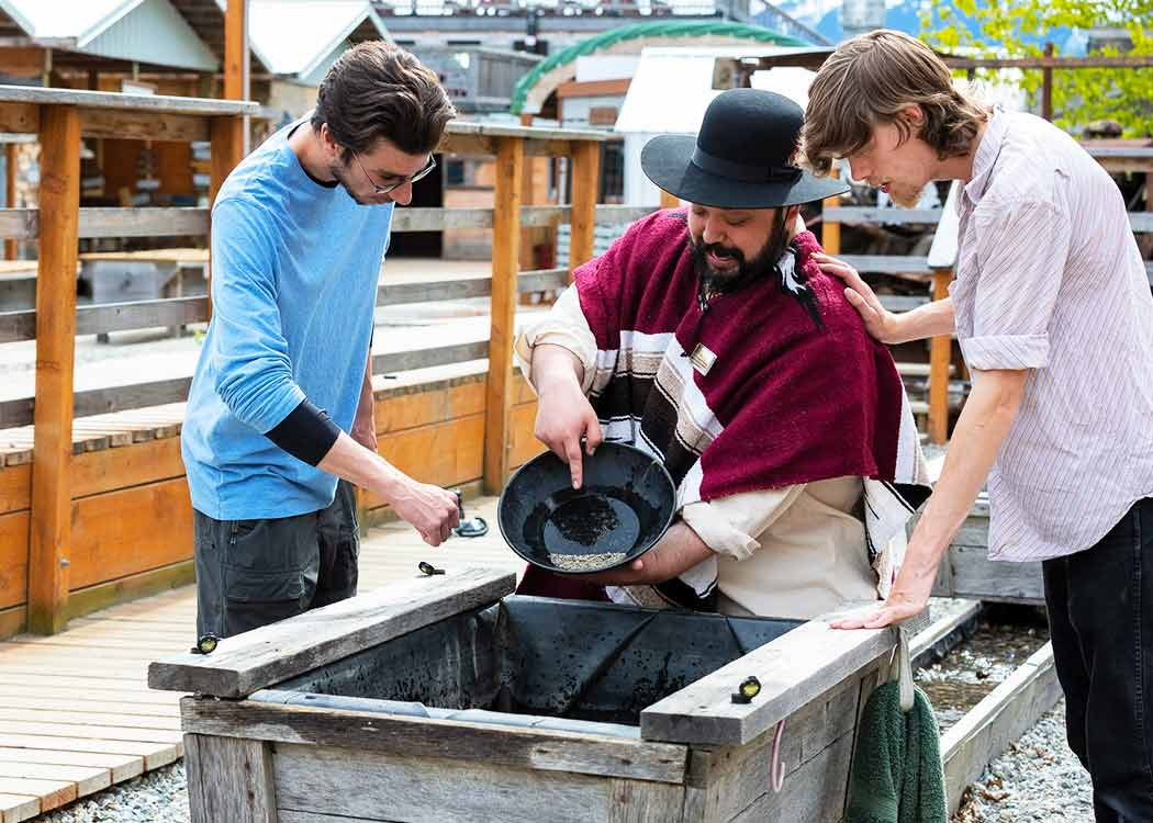 Going for the Gold: Panning and Dredge Tour with Alaska Shore Tours