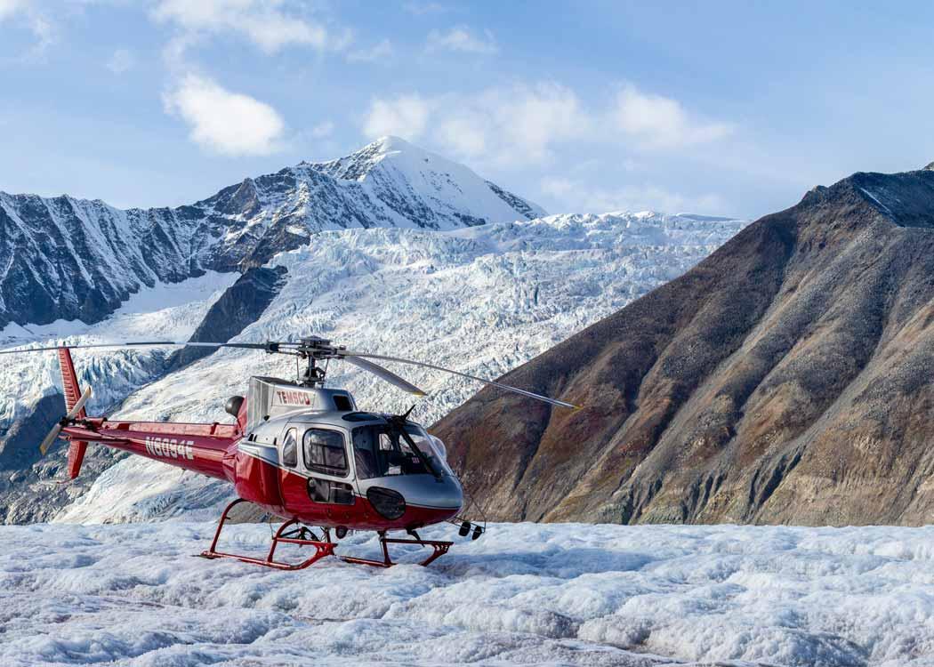 Denali Glacier Landing with Alaska Shore Tours