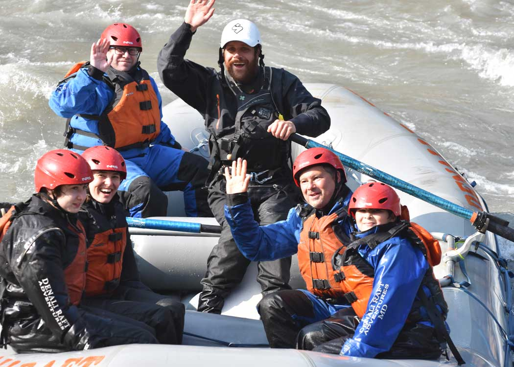 Healy Express Rafting with Alaska Shore Tours