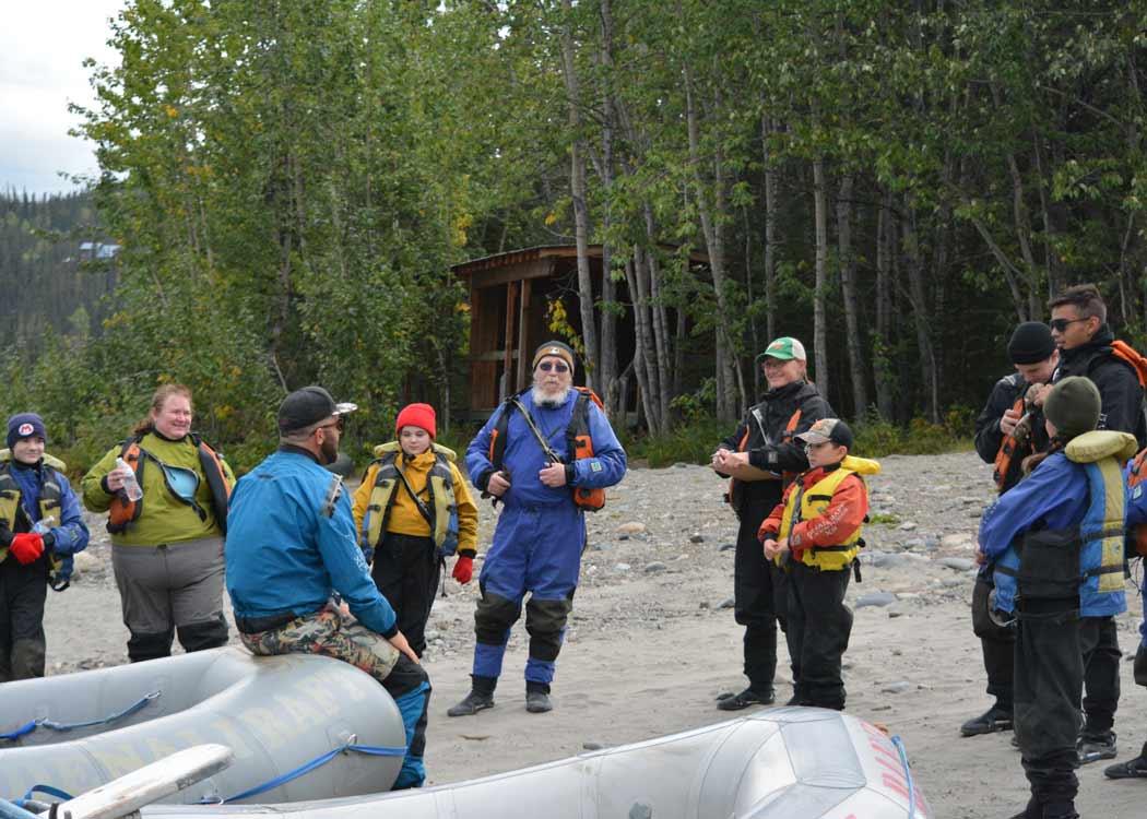 McKinley Scenic Run Rafting with Alaska Shore Tours